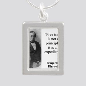 Free Trade Is Not A Priciple - Disraeli Necklaces