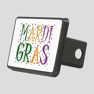 MARDI GRAS Rectangular Hitch Cover