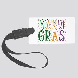 MARDI GRAS Large Luggage Tag