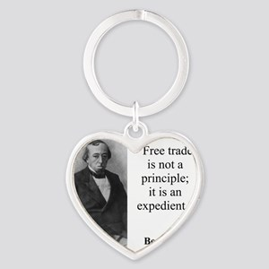 Free Trade Is Not A Priciple - Disraeli Keychains