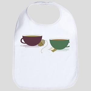 Tea Cups Bib