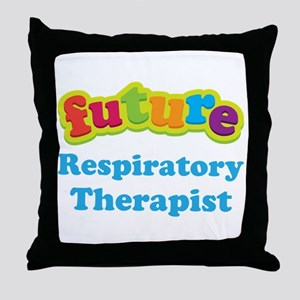 Future Respiratory Therapist Throw Pillow