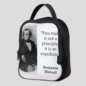 Free Trade Is Not A Priciple - Disraeli Neoprene L