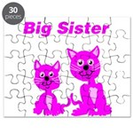Big Sister Pink Kittens Puzzle