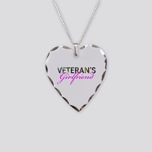 BDU Army Vet GF Necklace Heart Charm