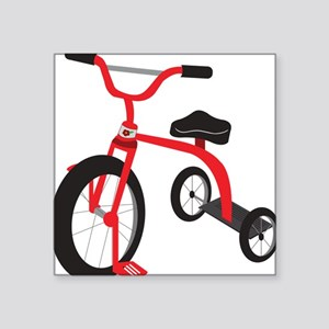 """Tricycle Square Sticker 3"""" x 3"""""""