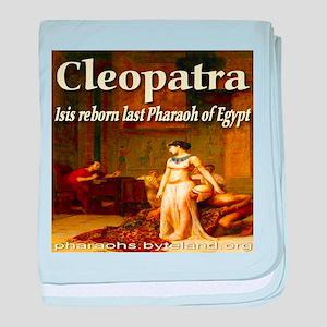 I Love Cleopatra baby blanket
