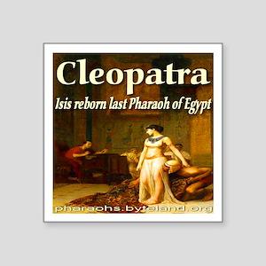 "I Love Cleopatra Square Sticker 3"" x 3"""