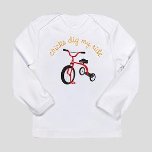 My Ride Long Sleeve Infant T-Shirt