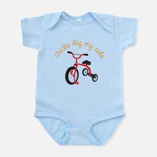 My Ride Infant Bodysuit