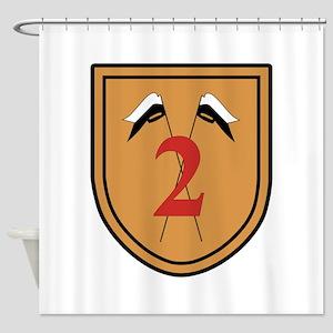 2. PzAufklBtl 6 Shower Curtain