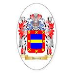 Arriola Sticker (Oval 50 pk)