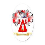 Arrigucci Oval Car Magnet