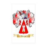 Arrigo Sticker (Rectangle 50 pk)