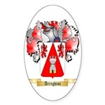 Arrighini Sticker (Oval)