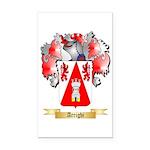 Arrighi Rectangle Car Magnet