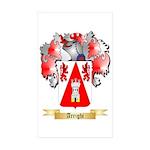 Arrighi Sticker (Rectangle 50 pk)