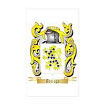 Arriaga Sticker (Rectangle 50 pk)