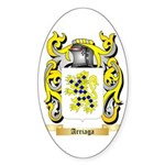 Arriaga Sticker (Oval 10 pk)