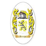 Arriaga Sticker (Oval 50 pk)
