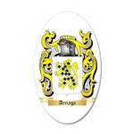 Arriaga 20x12 Oval Wall Decal