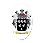 Arrandale Oval Car Magnet