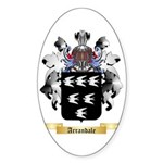 Arrandale Sticker (Oval 50 pk)