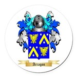 Arragon Round Car Magnet
