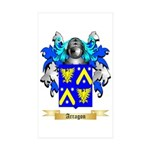 Arragon Sticker (Rectangle 10 pk)