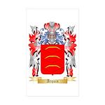 Arquin Sticker (Rectangle 50 pk)