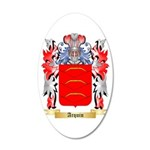 Arquin 20x12 Oval Wall Decal