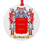 Arquet Round Ornament