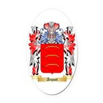 Arquet Oval Car Magnet