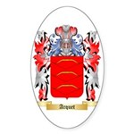 Arquet Sticker (Oval 10 pk)