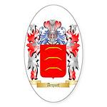 Arquet Sticker (Oval 50 pk)