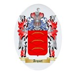 Arquet Ornament (Oval)