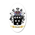 Arondel 35x21 Oval Wall Decal