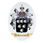 Arondeau Ornament (Oval)