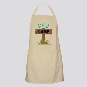 Scout Camp Apron