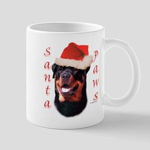 Santa Paws Rottweiler Mug