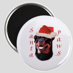 Santa Paws Rottweiler Magnet