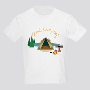 Gone Camping Kids Light T-Shirt