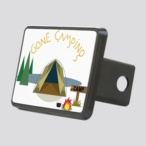 Gone Camping Rectangular Hitch Cover