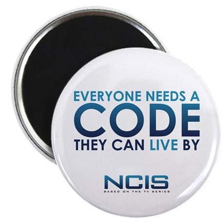 """NCIS Code 2.25"""" Magnet (10 pack)"""
