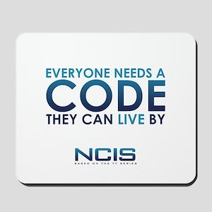 NCIS Code Mousepad