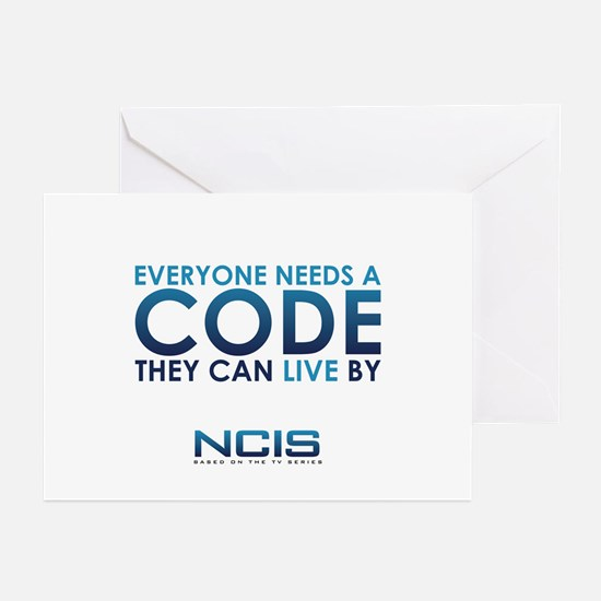 NCIS Code Greeting Cards (Pk of 20)