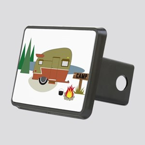 Camping Trailer Rectangular Hitch Cover