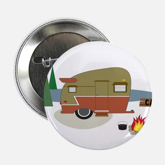 "Camping Trailer 2.25"" Button"