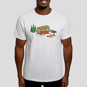 Camping Trailer Light T-Shirt