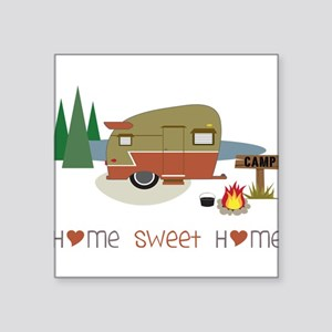"Home Sweet Home Square Sticker 3"" x 3"""